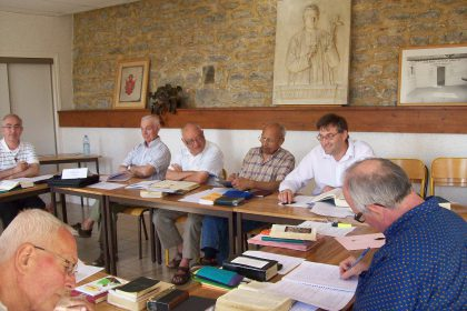 Session des laïcs consacrés