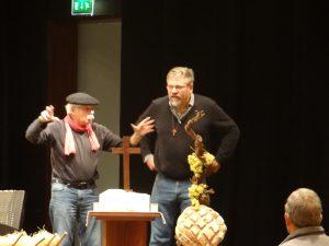 Aménagement de la scène : Hervé et Louis se projettent !