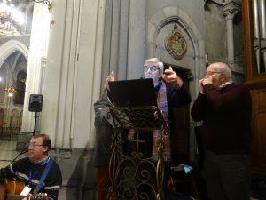 Pierre MORIN à la guitare et Lucien ALBRECHT à l'harmonica.