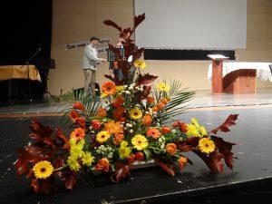 Merci à Anne-Marie IBARRA pour ses superbes compositions florales.