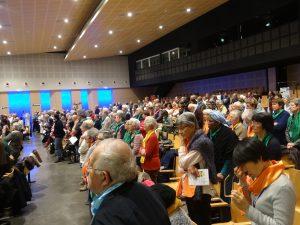 L'eucharistie du jeudi soir.