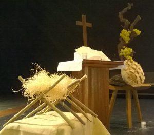 Crèche, Croix, Eucharistie