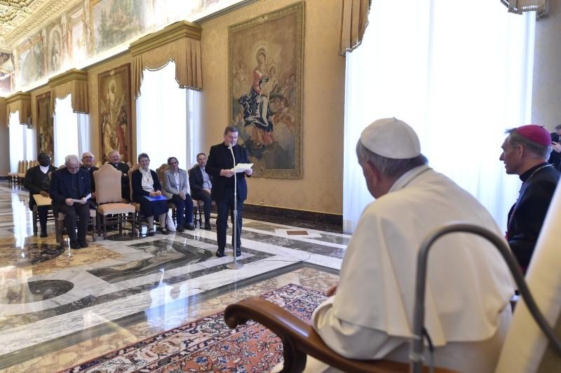 Le Prado rencontre le Pape François