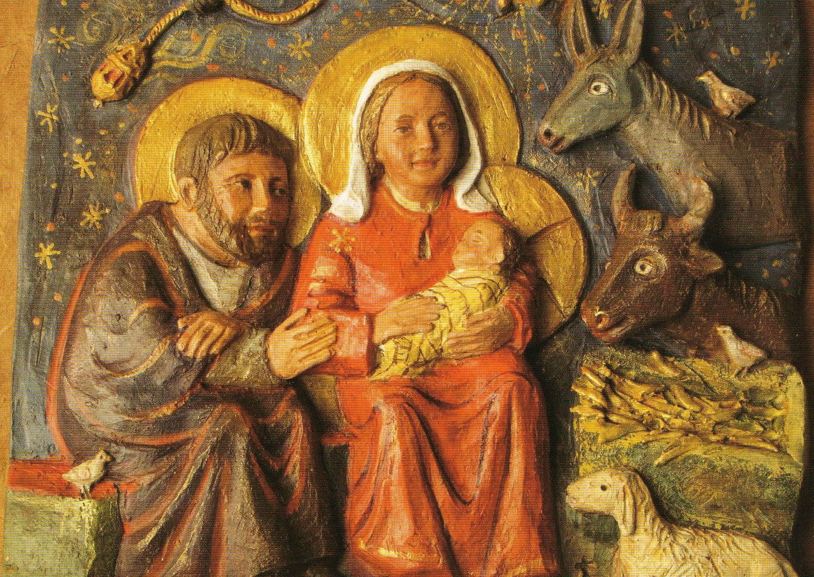 La beauté de la crèche de Noël
