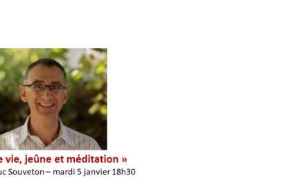 La conférence (en replay) du mardi 5 janvier 2021 - P. Jean-Luc Souveton